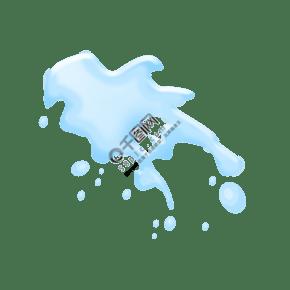 自來水飲用水灑落