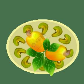 果 零食 食品 果仁 腰果 擺圓圈
