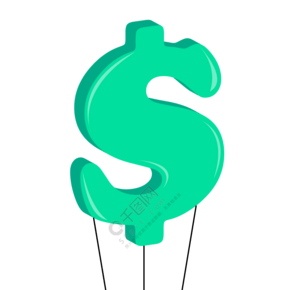 2.5D金融热气球