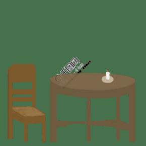 家居产品手绘插画