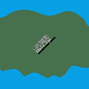 藍色矢量通用海洋邊框