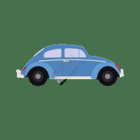 轎車出行工具元素