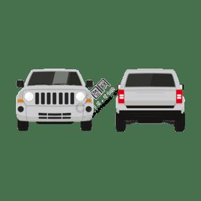 吉普車汽車造型元素