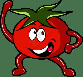 卡通西红柿PNG免抠素材