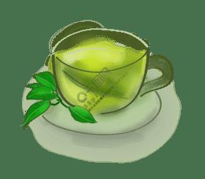 白露手繪古風茶飲