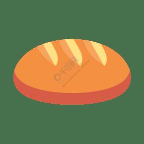 手繪卡通居家清新系列烤面包