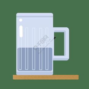 扁平風格玻璃容器插畫 PNG圖片