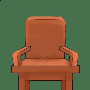 精美的家具凳子插画