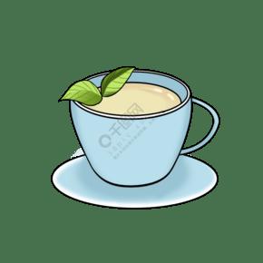 茶文化清茶手繪插畫
