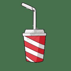 飲料可樂手繪插畫