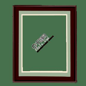 木質相框卡通插畫