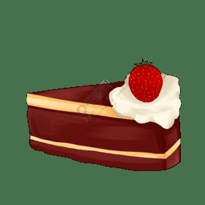 蛋糕甜品甜食烘焙手繪美食甜點PNG免摳