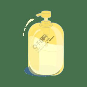 矢量手繪立體洗手液