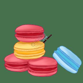 馬卡龍甜品糕點美食甜點甜食PNG