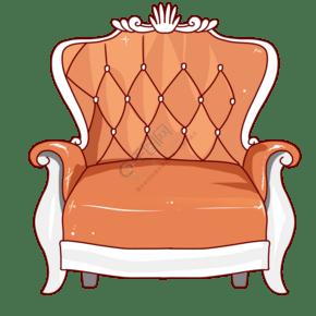黄色的欧美风椅子