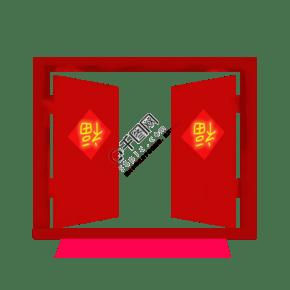 2019新年開門紅png 下載