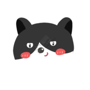 可爱猫咪微笑免抠图png