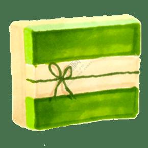 绿色小清新礼品盒子