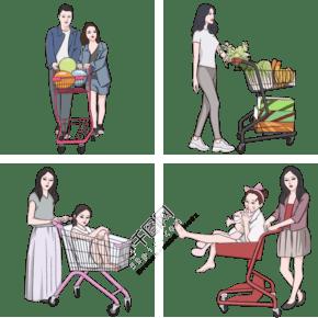 2019年备年货购物的人套图
