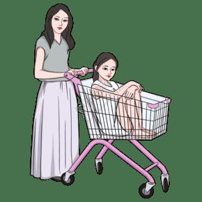 2019年备年货购物的人3