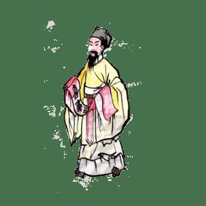 中国福禄寿神仙节日拜神祈福PNG