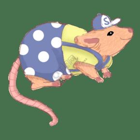 可愛的小田鼠免摳圖