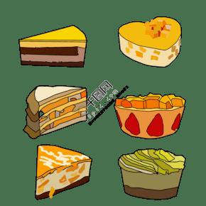 日系芒果風味蛋糕