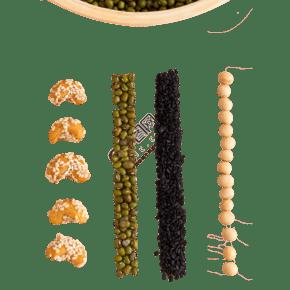 一些新鮮的五谷堅果