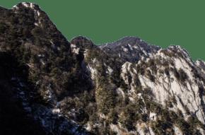 連綿起伏的山丘山峰