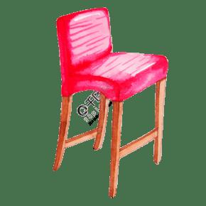 休闲座椅沙发插画
