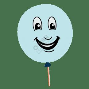 笑脸棒棒糖装饰插画