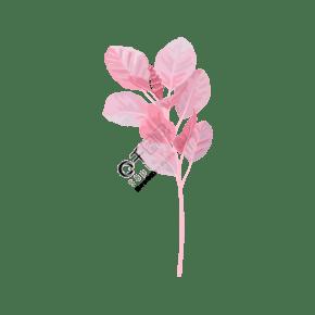 水彩風粉色花束矢量圖