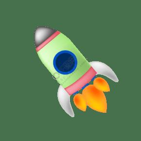 中国航天火箭插画