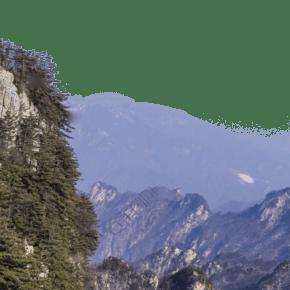 層巒疊嶂陡峭的山峰