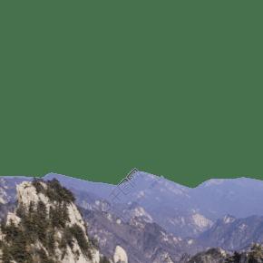 綿延起伏層巒疊嶂的山峰