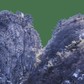 險峻重巒疊嶂的山峰