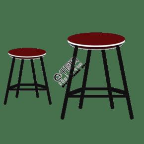 椅子装饰素材图案
