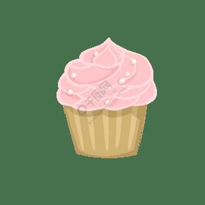 清新可愛甜品杯子蛋糕