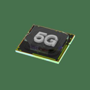 灰色科技5G芯片元素