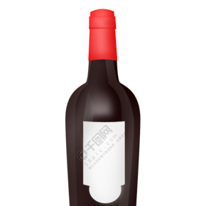 KTV酒吧紅酒酒瓶