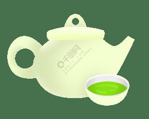 陶瓷茶具绿茶茶水