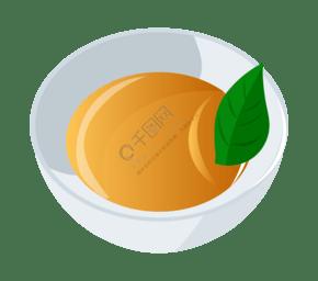 美味的卡通茶水插画
