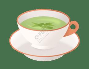 精致的茶具和茶水