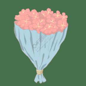 漂亮的樱花花束插画