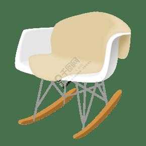 家具椅子卡通插画