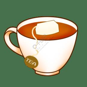 美味的红茶的插画