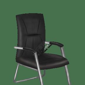 黑色的家具椅子插画