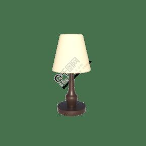 C4D立体床头台灯装饰灯