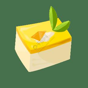 白色美味面包插圖