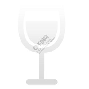 卡通酒杯圖標設計